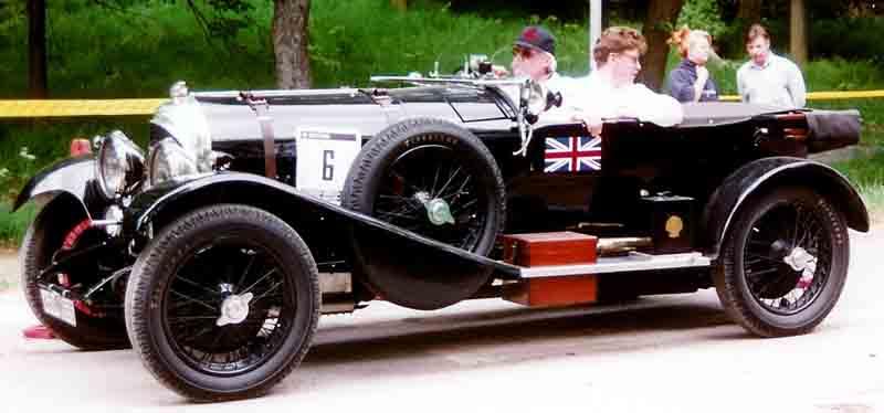 Bentley 3-Litre Speed Model Tourer, 1926 (Avtor: Lars-Göran Lindgren)