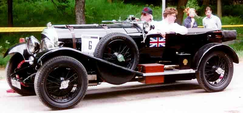 Bentley 3-Litre Speed Model Tourer, 1926 (Avtor: Lars-Göran Lindgren)