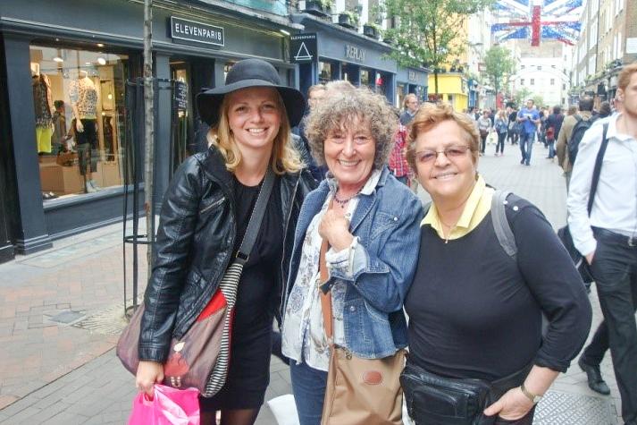 Marjeta, Zdenka in Maja v Londonu